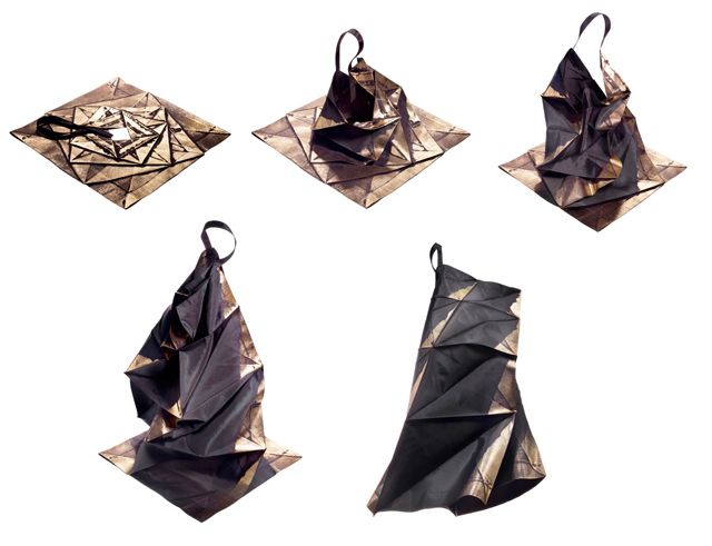 Images from the Issey Miyake 132 5 origami-inspired collection 2010 (2)