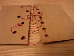 Card and wire reverse