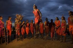 Kenyan Masai dance