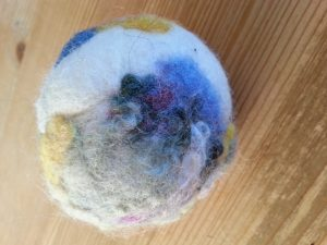 OCA MMT Assignment 3 - Project 2 - Casting the Internal Space of a Vessel - Wool Felt