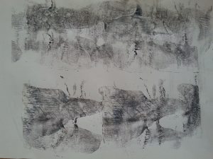 MMT Assignment 4 - Monoprinting - Exercise Two - Back Drawing