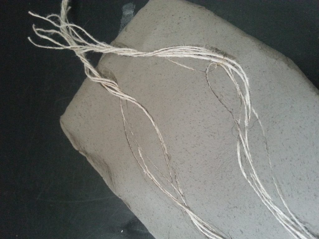 Assingment Three - Moulding from a surface - Air-drying clay