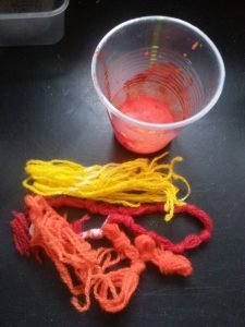 Debbie Tomkies - OCA MMT -Assignment Three - Casting the internal space of a vessel - PVA and yarn